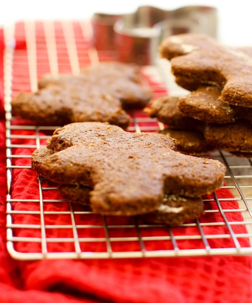 Gluten-free Gingerbread Men from feastingonfruit.com