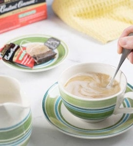 Take Some Time Out for Tea with Cashew Almond Vegan Creamer