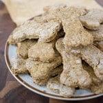 Pumpkin Cranberry Dog Cookies