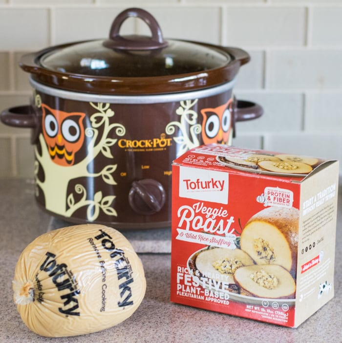 Slow Cooker Maple Herb Tofurky