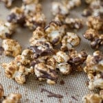 Peanutbutter Cup Popcorn from DIY Vegan