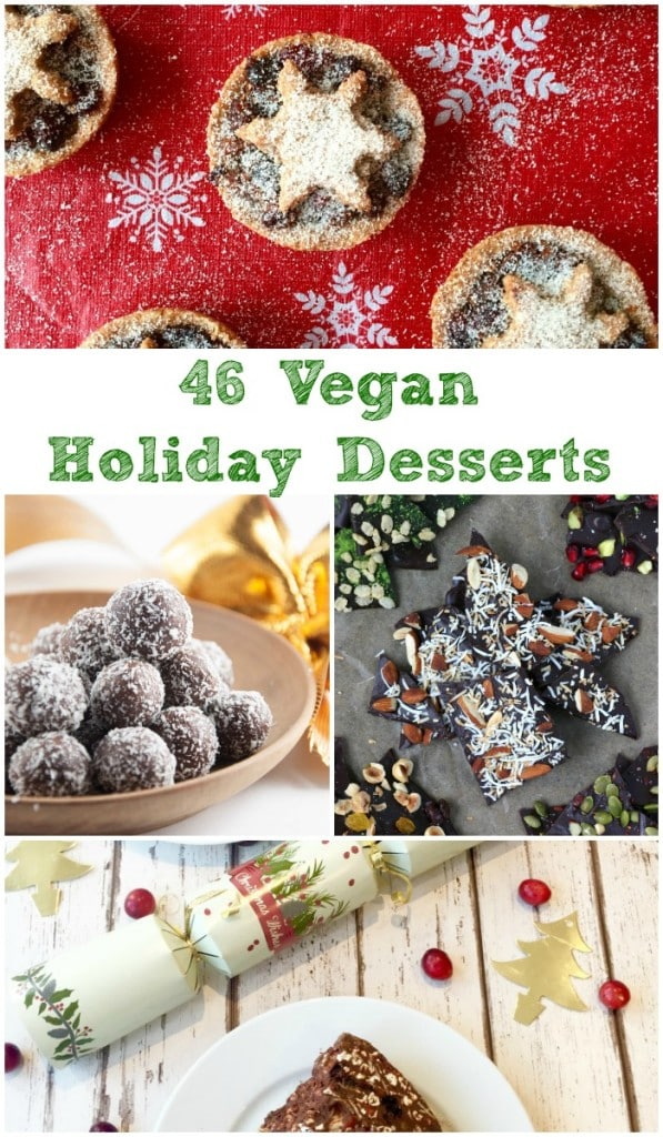 All the Vegan Holiday Desserts You Can Hold