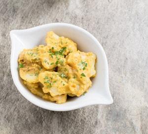 Vegan Slow Cooker Potato Au Gratin with No Added Oil