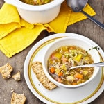 2 Quart Slow Cookers and an Autumn Harvest Veggie Soup Recipe
