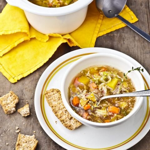 2 Quart Slow Cookers and an Autumn Harvest Veggie Soup Recipe for 2