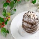 Vegan Mint Double Chocolate Black Bean Cookies