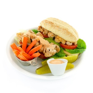 Cauliflower Po' Boy Sandwiches