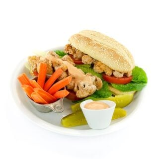 Cauliflower Po' Boy Sandwiches