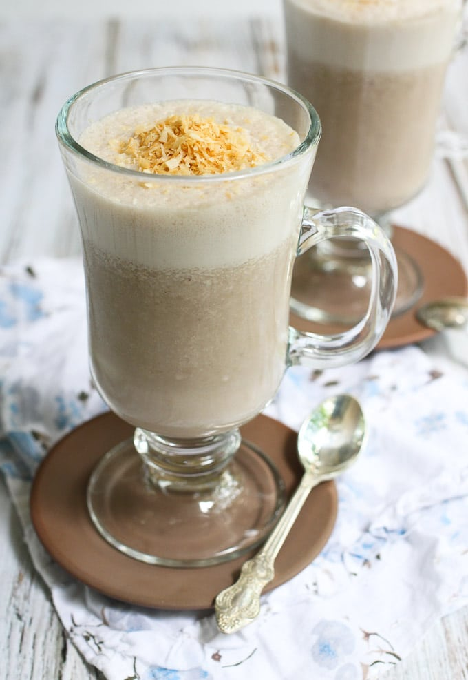Coffee Smoothie with Coconut from mariaushakova.com