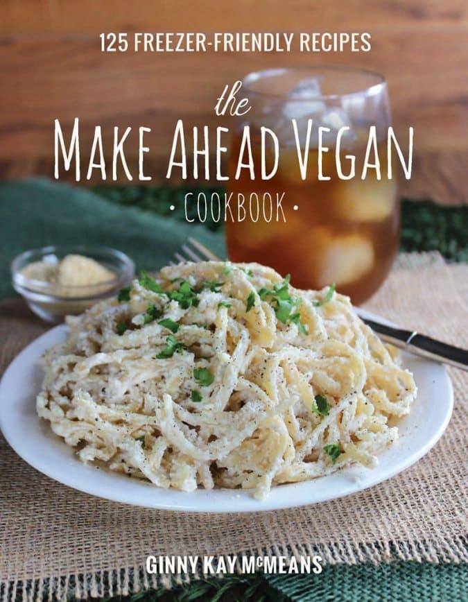 The Make Ahead Vegan Cookbook cover