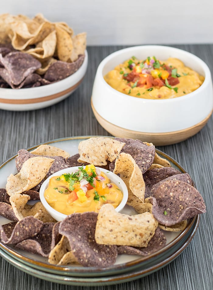 Vegan Queso with a Surprise Healthy Ingredient