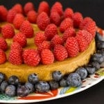 Pressure Cooker Cashew Lemon Cheezecake from Vegan Under Pressure