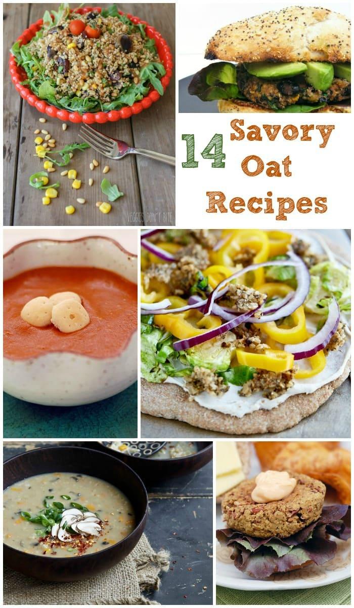 14 Vegan Savory Oat Recipes