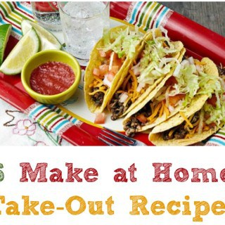 Make at Home Take-Out Recipes