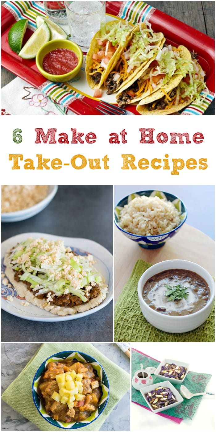 Make at Home Vegan Slow Cooker Take-Out Recipes