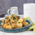 """I Love Potatoes"" Tempeh Hash with Veggies"