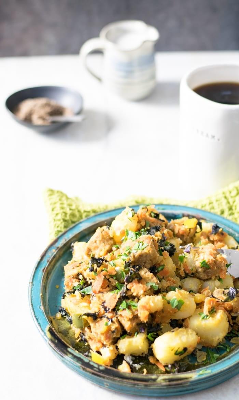 I Love Potatoes Tempeh Hash with Veggies