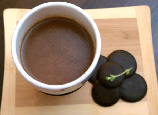 Tipsy Mint-Kahlua Cocoa (From Your Slow Cooker!)