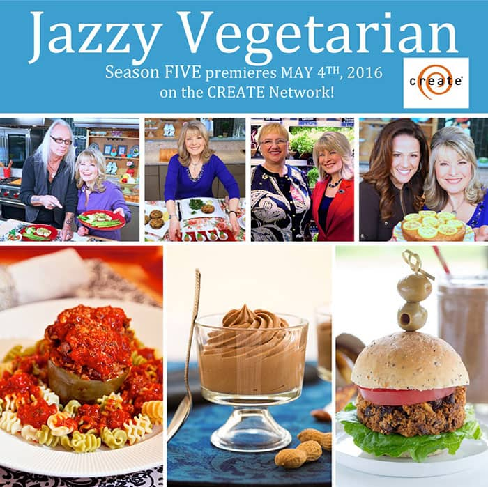Jazzy Vegetarian Season Five starring Laura Theodore