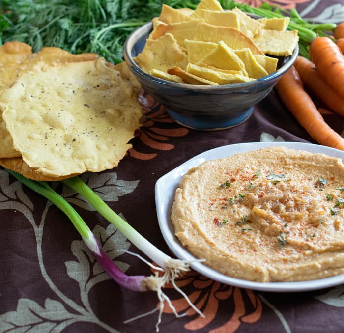 Happy Hummus Day! Celebrate #NationalHummusDay with Sabra and Vegan Chickpea Crackers