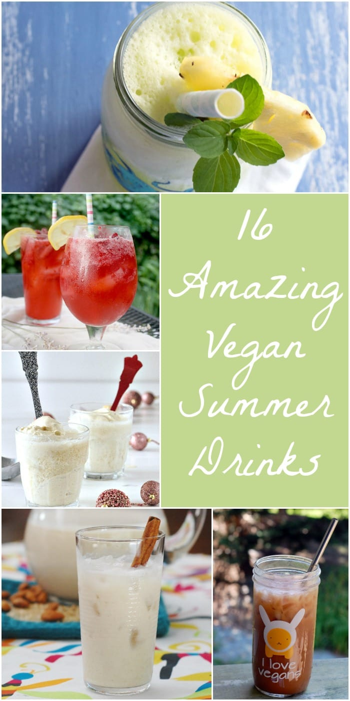 16 Amazing Vegan Summer Drinks