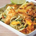 Vegan Drenched Pad That Salad with Zoodles from The Little Vegan Cookbook