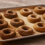Vegan Baked Chocolate Donuts from Ancient Grains
