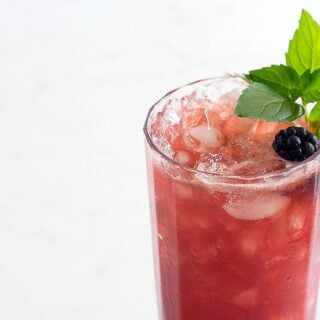 Blackberry Mint Lemon Switchel