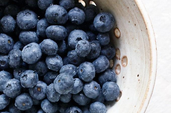 Vegan Blueberry Recipe Roundup for All Those Fresh Blueberries in Your Fridge!