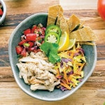 Hearts of Palm Vegan Fish Taco Bowl from Vegan Bowl Attack