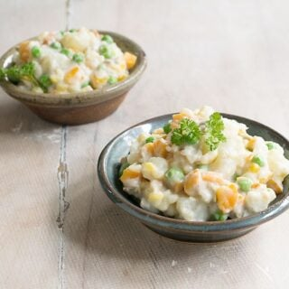 Vegan Instant Pot Brazilian Potato Salad