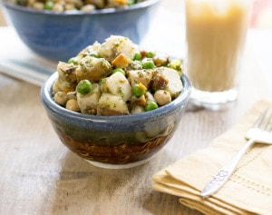 Instant Pot Indian Potato Salad Recipe with Idaho® Potatoes