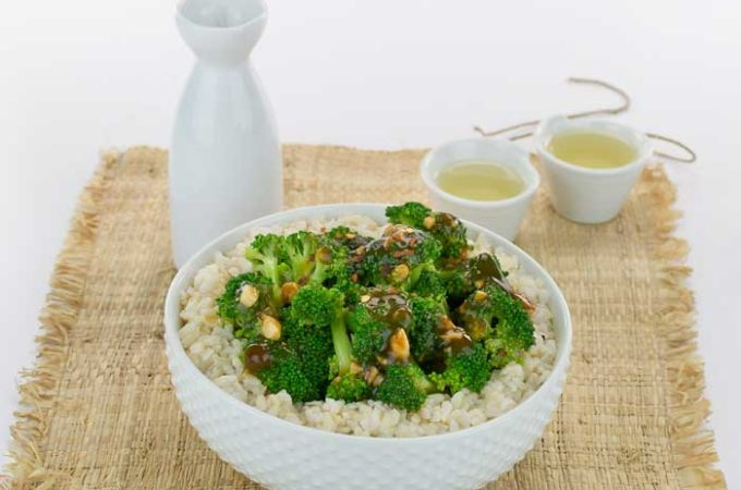 This Quick and Easy Vegan Broccoli with Spicy Garlic Sauce Recipe Will Have You Breaking Up with Takeout!