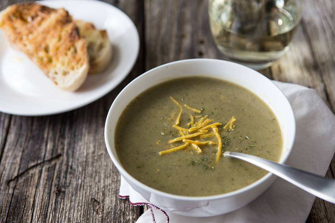Creamy, Vegan, Broccoli Soup