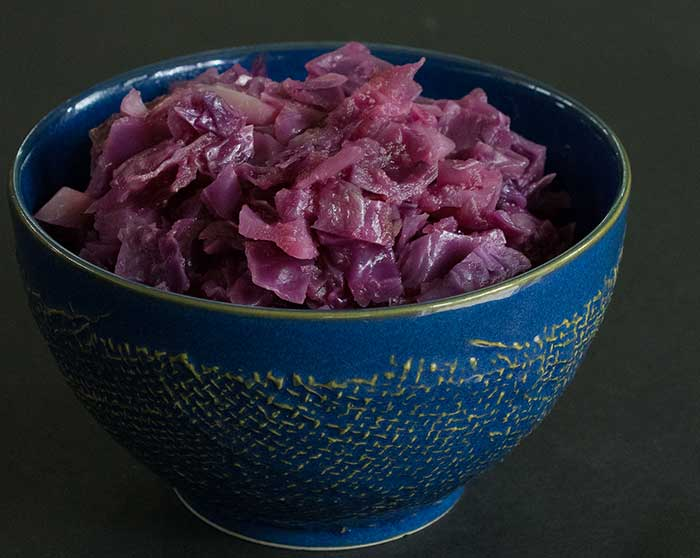 Sweet and Sour Red Cabbage Made Fast in Your Instant Pot