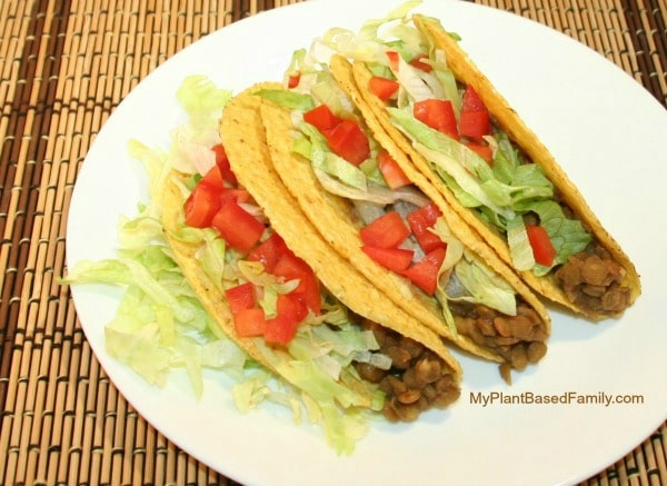 Vegan Gluten-Free Plant-Based Lentil Tacos