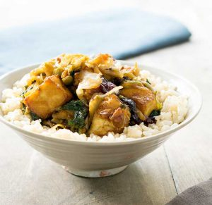 Quick and Easy Tofu Superfood Stir-fry: Made with an Eat Smart Sweet Kale Salad Kit