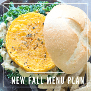Happy October Vegan Menu Plan
