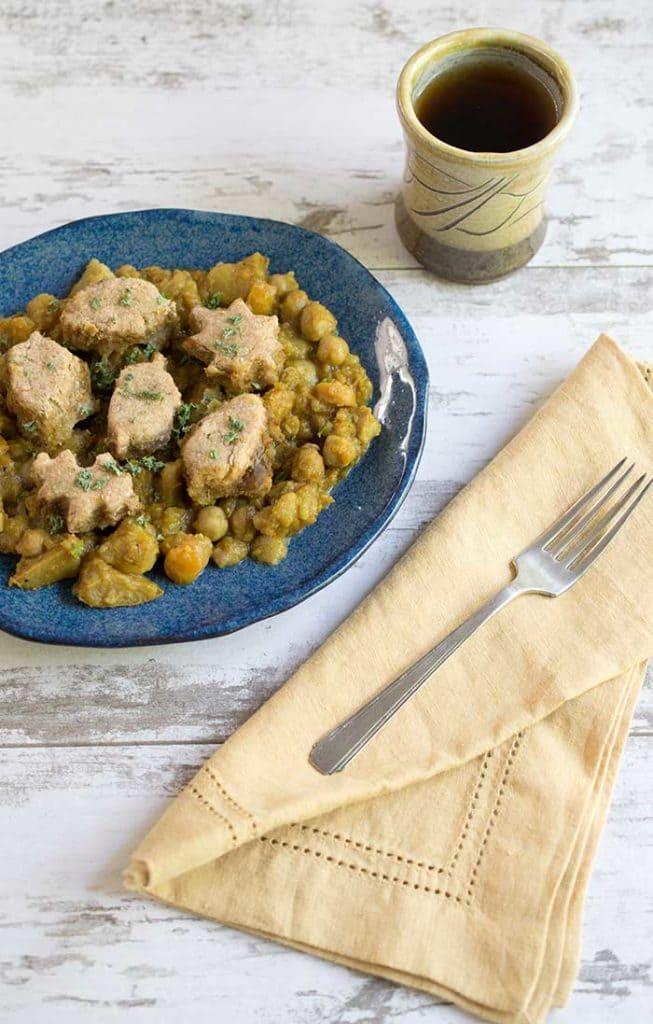 Vegan Slow Cooker Curry Pot Pie
