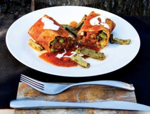 Northern Mexico Chimichangas from Vegan Mexico