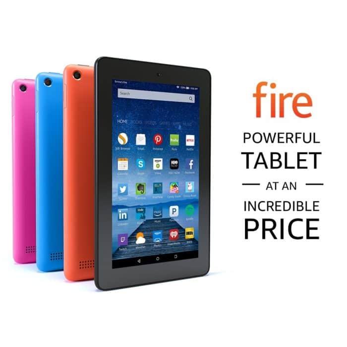 """Fire Tablet, 7"""" Display, Wi-Fi, 8 GB"""