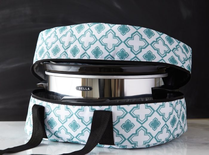 Roll over image to zoom in iEnjoyware Slow Cooker Insulated Tote - 15 X 11 X 8 Inches