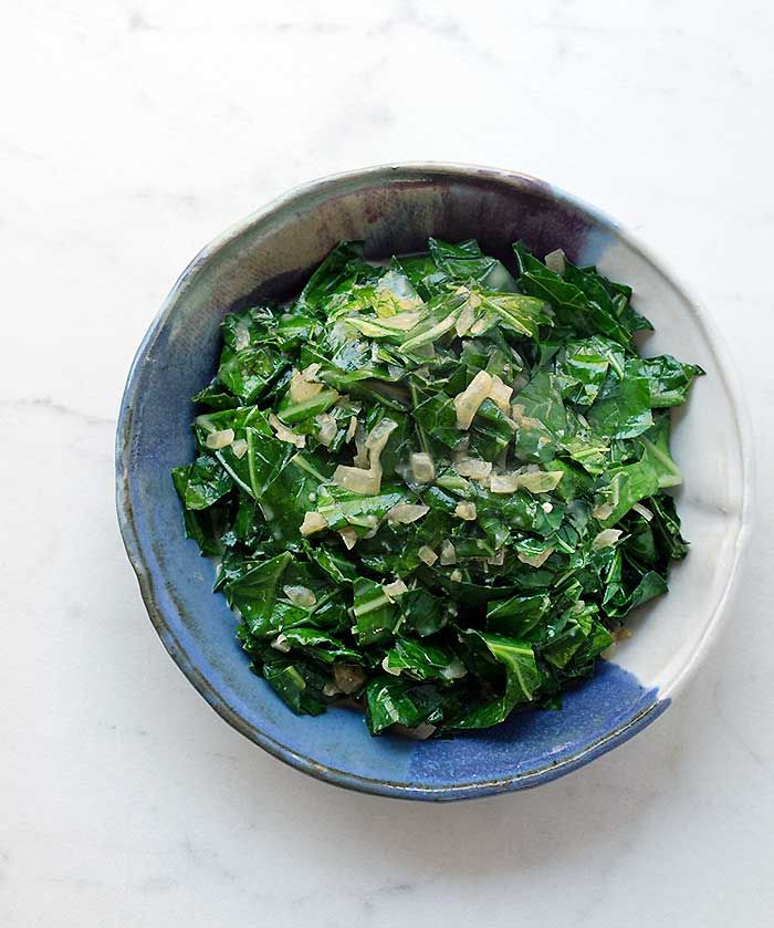 Creamy Vegan Greens and a Food Safety Lesson #StoryOfYourDinner