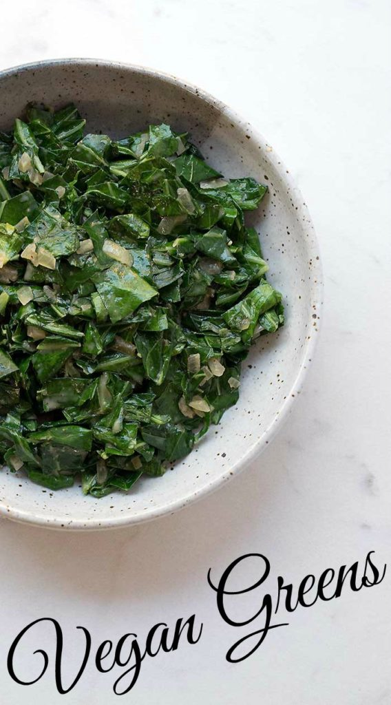 Creamy Vegan Greens and a Food Safety Lesson