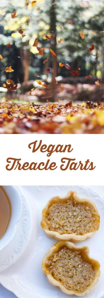 Harry Potter's Mini Vegan Treacle Tarts