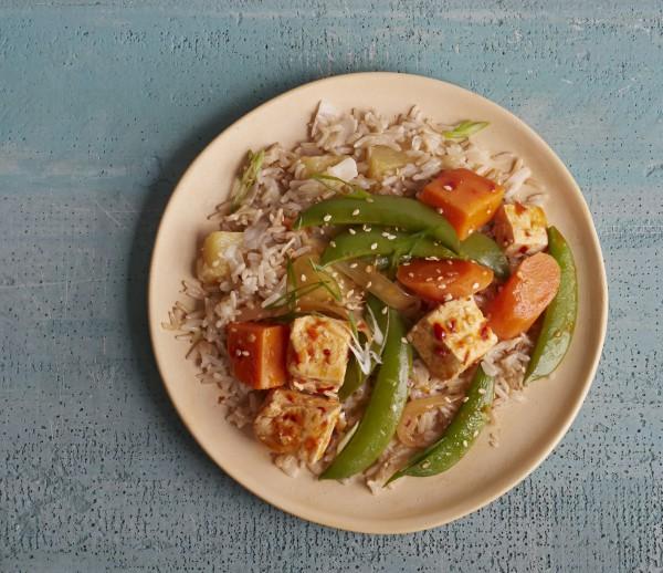 Jill Nussinow's Sassy Sesame Tofu