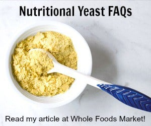 Learn all about nutritional yeast!