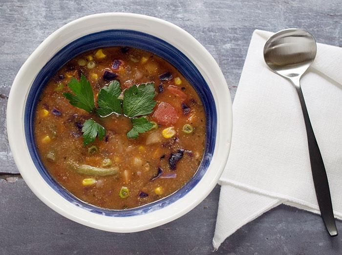 Vegan Instant Pot Teff Vegetable Soup