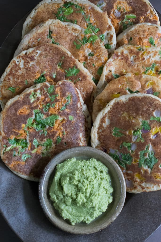 A vegan instant pot menu plan that will make your week easy wednesday instant pot vegan uttapams are savory south indian pancakes traditionally made from a batter of urad dal and rice thats fermented overnight forumfinder Images