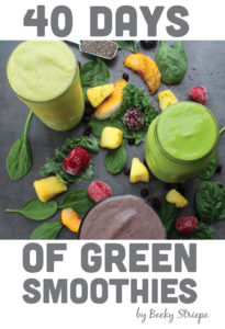 Becky's Spicy Mango Tango Green Smoothie